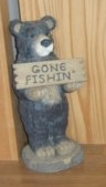 Gone Fishin' Bear