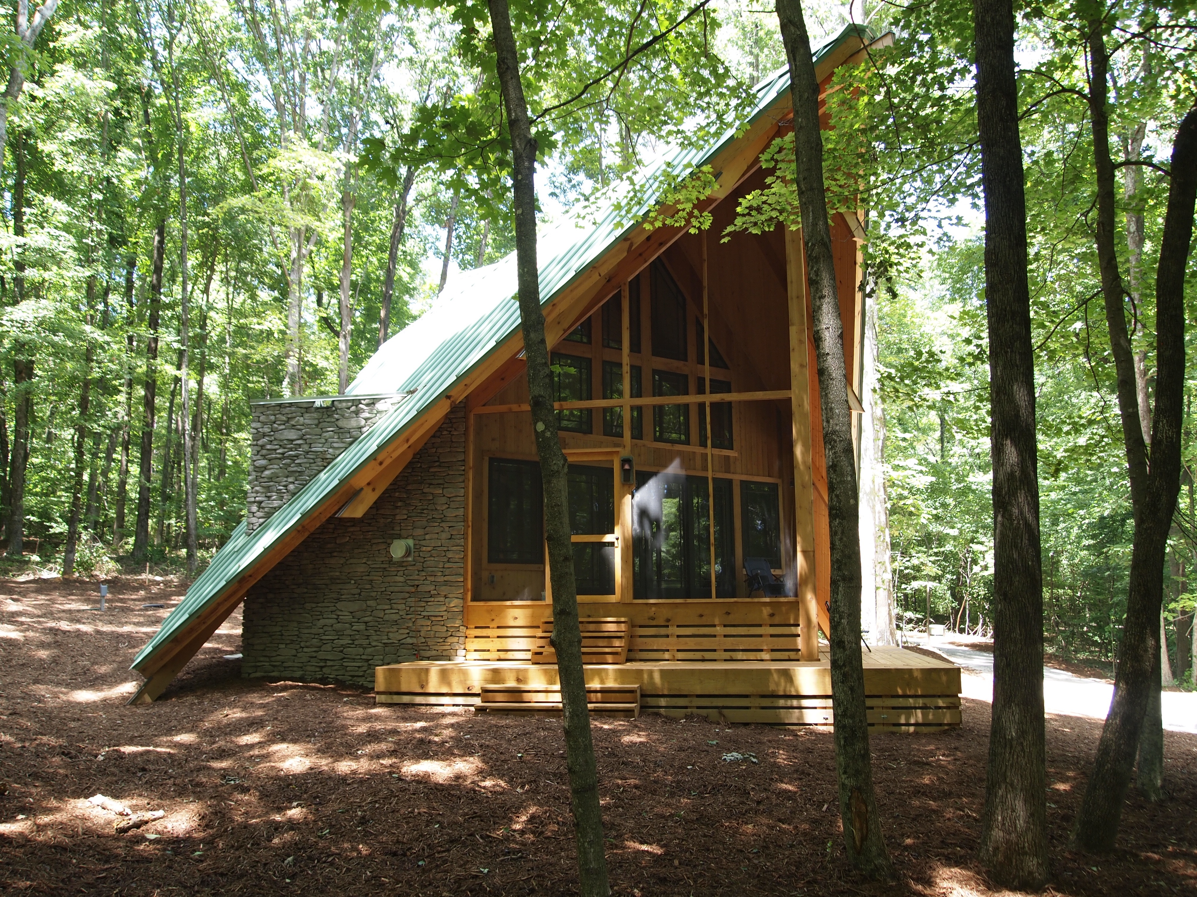 Miraculous Living Large Reveals A Unique Tiny House In The Woods Living Inspirational Interior Design Netriciaus